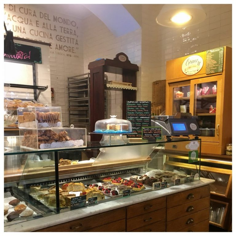 Interior of the Bakery