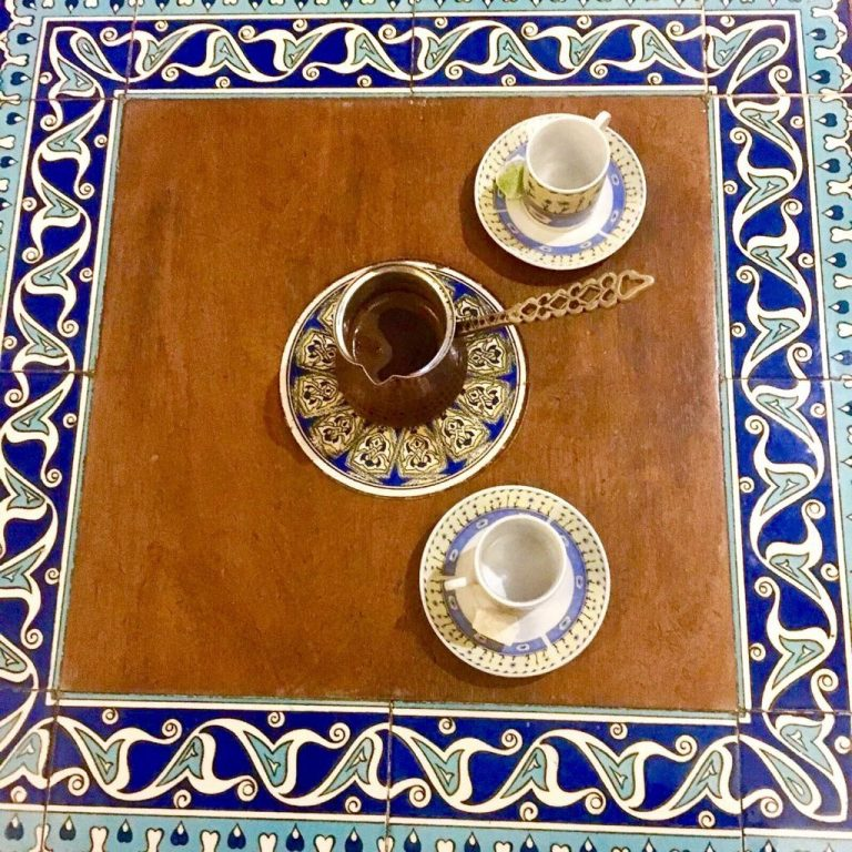 Kurdish coffee in Kirkuk Kafe