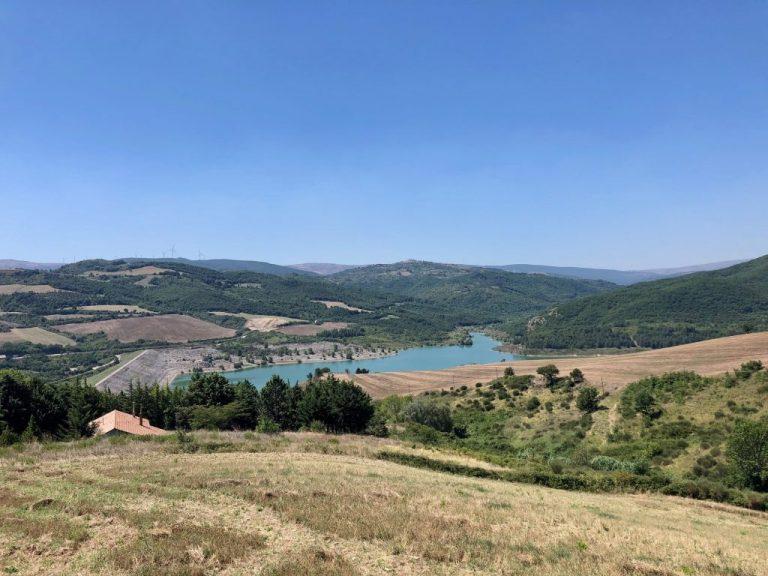 Acerenza's artificial lake