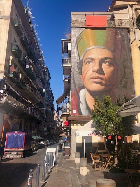 San Gennaro by Jorit (Naples)