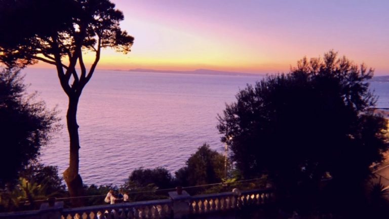 """The view from """"my house"""" in Vico Equense"""