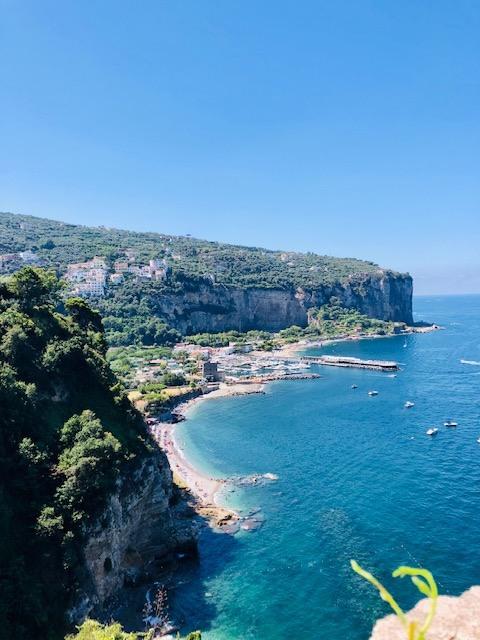 The Gulf from Vico Equense Belvedere